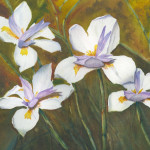 """""""African Lilies"""" Watercolor Painting"""