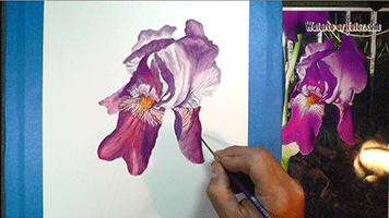 A Watercolor Lesson From The Course