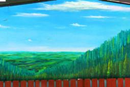 Landscape Mural, Idaho